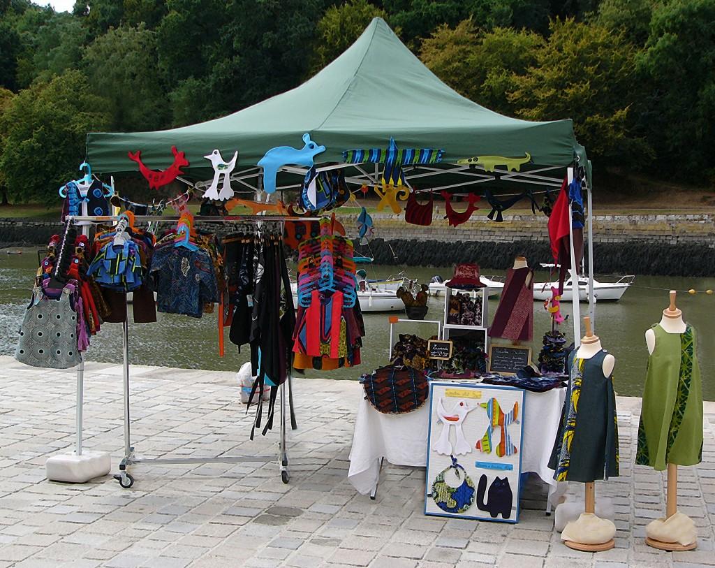 Stand marché Auray estelle